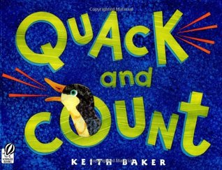 """Book cover for """"Quack and Count"""" by Keith Baker."""