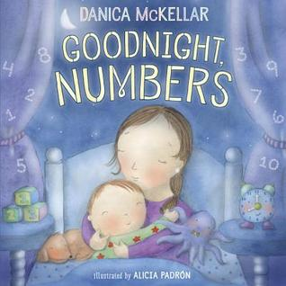 "Book cover for ""Goodnight, Numbers"" by Danica McKellar."