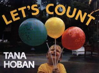 """Book cover for """"Let's Count"""" by Tana Hoban."""