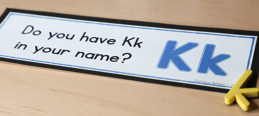 Photo of a question of the day: Do you have Kk in your name?